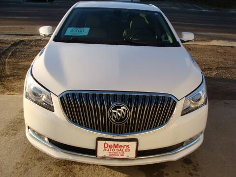 2016 Buick LaCrosse for sale at DeMers Auto Sales in Winner SD