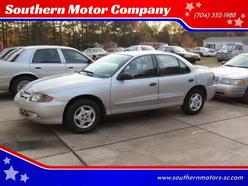 2005 Chevrolet Cavalier for sale at Southern Motor Company in Lancaster SC