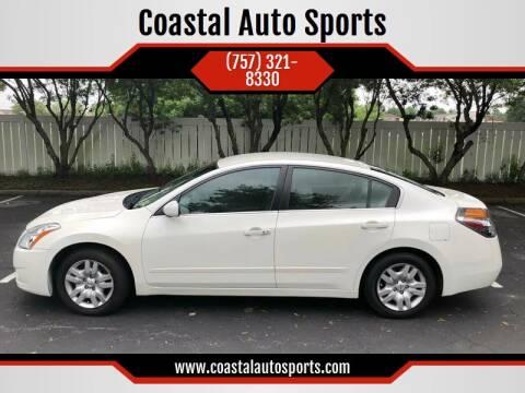 2011 Nissan Altima for sale at Coastal Auto Sports in Chesapeake VA