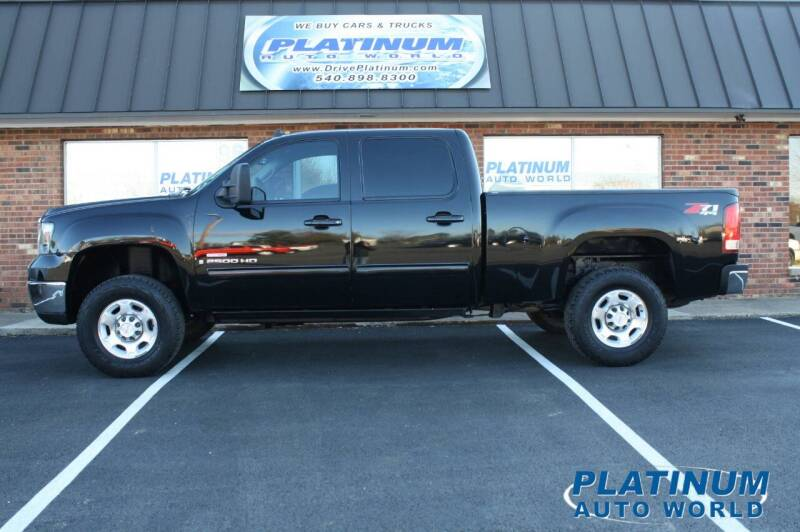 2008 GMC Sierra 2500HD for sale at Platinum Auto World in Fredericksburg VA