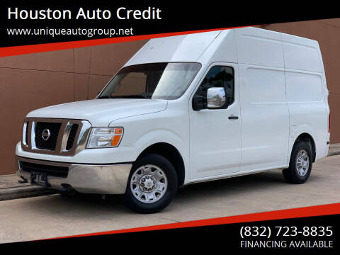 2013 Nissan NV Cargo for sale at Houston Auto Credit in Houston TX
