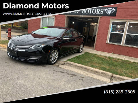 2016 Lincoln MKZ for sale at Diamond Motors in Pecatonica IL