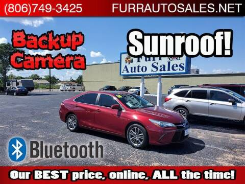 2016 Toyota Camry for sale at FURR AUTO SALES in Lubbock TX