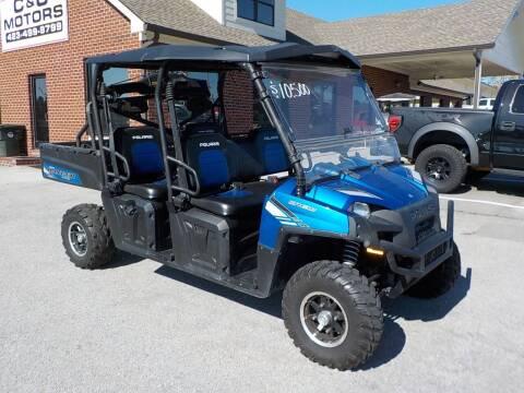 2013 Polaris Ranger for sale at C & C MOTORS in Chattanooga TN