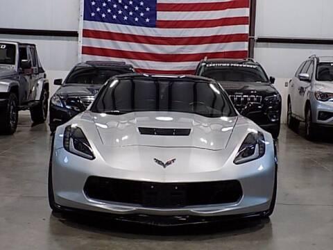 2019 Chevrolet Corvette for sale at Texas Motor Sport in Houston TX