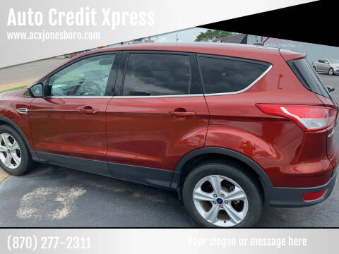 2014 Ford Escape for sale at Auto Credit Xpress in Jonesboro AR