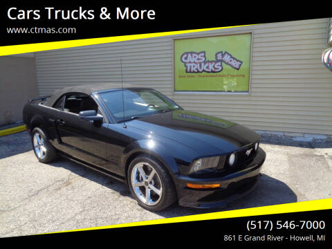 2008 Ford Mustang for sale at Cars Trucks & More in Howell MI