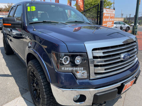 2013 Ford F-150 for sale at TOP SHELF AUTOMOTIVE in Newark NJ