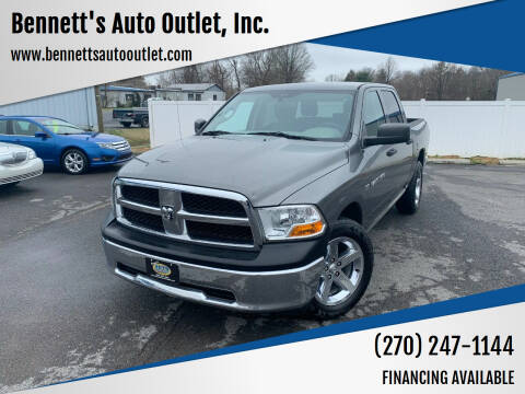 2012 RAM Ram Pickup 1500 for sale at Bennett's Auto Outlet, Inc. in Mayfield KY