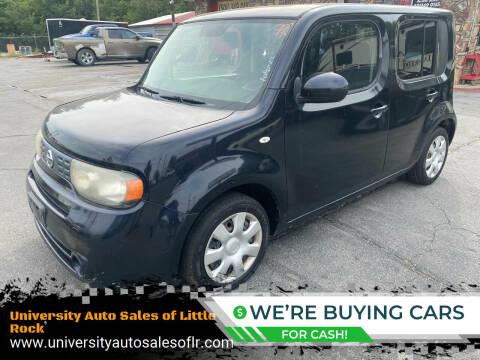2010 Nissan cube for sale at University Auto Sales of Little Rock in Little Rock AR