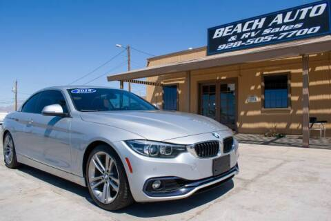 2018 BMW 4 Series for sale at Beach Auto and RV Sales in Lake Havasu City AZ