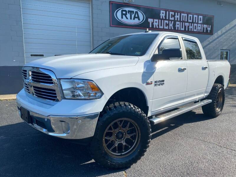 2017 RAM Ram Pickup 1500 for sale at Richmond Truck Authority in Richmond VA
