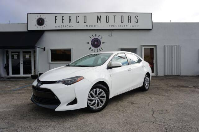 2019 Toyota Corolla for sale in Miami, FL