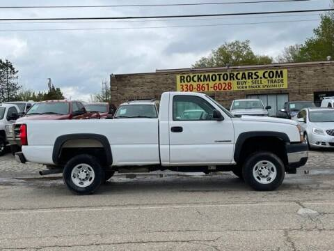 2006 Chevrolet Silverado 2500HD for sale at ROCK MOTORCARS LLC in Boston Heights OH