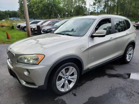 2011 BMW X3 for sale at GEORGIA AUTO DEALER, LLC in Buford GA