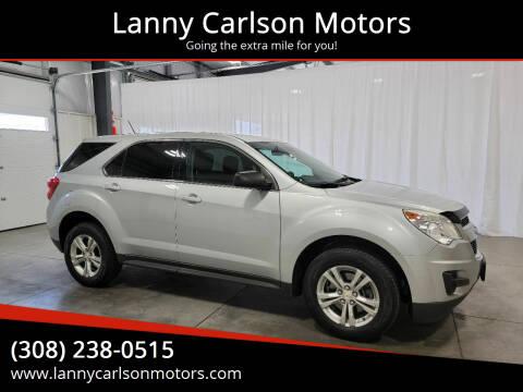 2014 Chevrolet Equinox for sale at Lanny Carlson Motors in Kearney NE