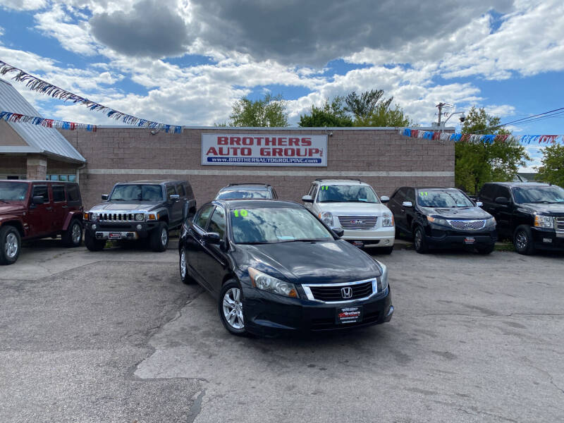 2010 Honda Accord for sale at Brothers Auto Group in Youngstown OH