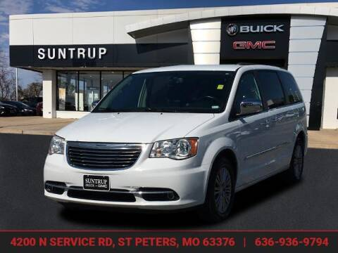 2014 Chrysler Town and Country for sale at SUNTRUP BUICK GMC in Saint Peters MO