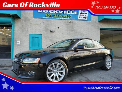 2011 Audi A5 for sale at Cars Of Rockville in Rockville MD