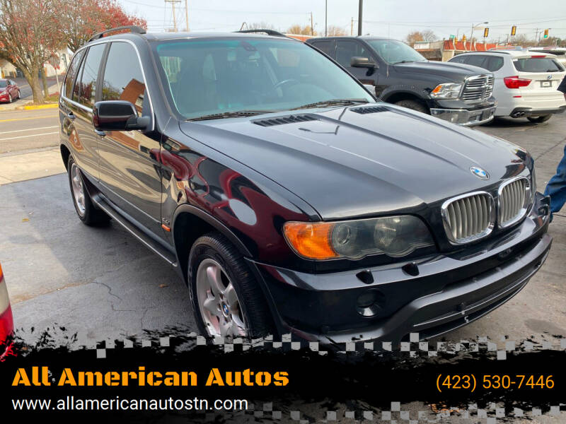 2002 BMW X5 for sale at All American Autos in Kingsport TN