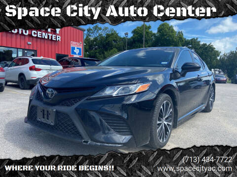 2018 Toyota Camry for sale at Space City Auto Center in Houston TX