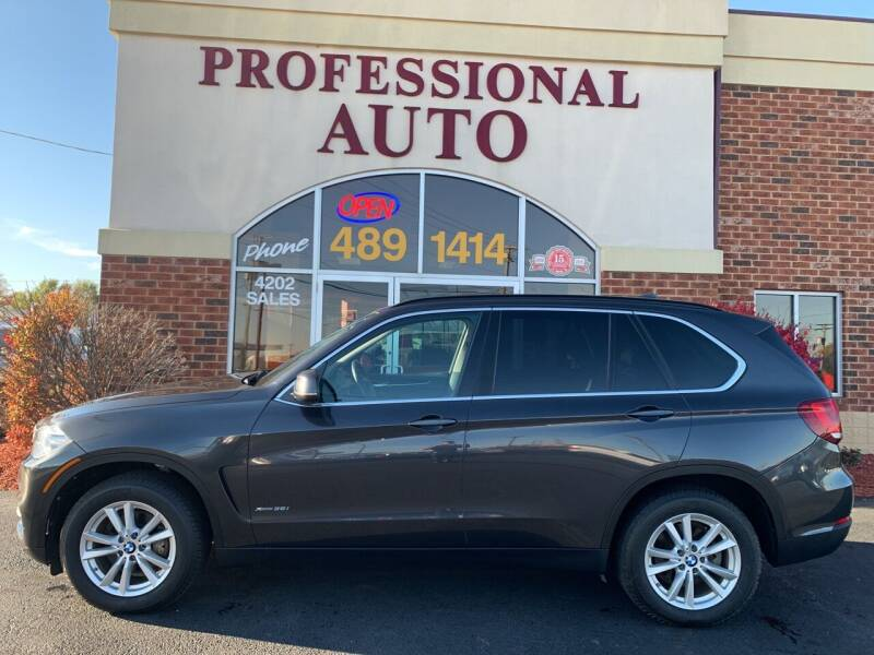 2014 BMW X5 for sale at Professional Auto Sales & Service in Fort Wayne IN