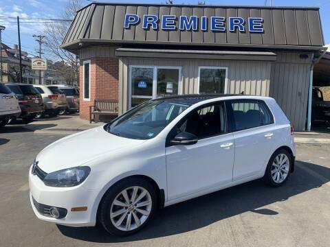 2013 Volkswagen Golf for sale at Premiere Auto Sales in Washington PA