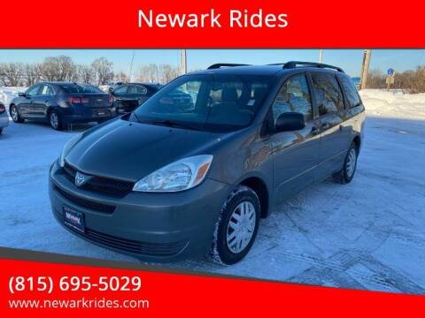 2005 Toyota Sienna for sale at Newark Rides in Newark IL