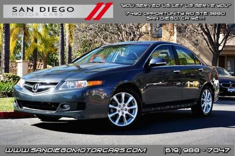2006 Acura TSX for sale at San Diego Motor Cars LLC in San Diego CA