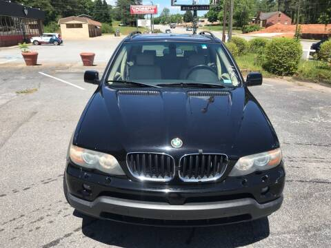 2005 BMW X5 for sale at ATLANTA AUTO WAY in Duluth GA