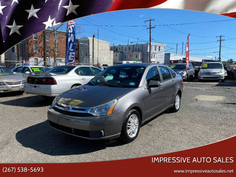 2010 Ford Focus for sale at Impressive Auto Sales in Philadelphia PA