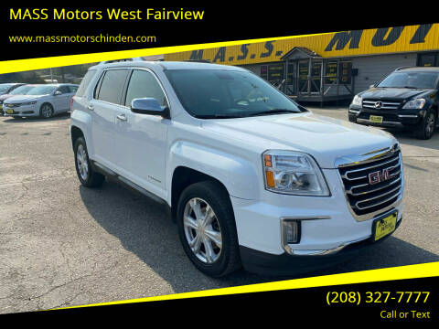 2016 GMC Terrain for sale at MASS Motors West Fairview in Boise ID