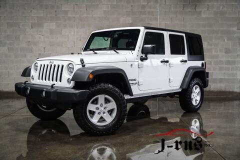 2017 Jeep Wrangler Unlimited for sale at J-Rus Inc. in Macomb MI