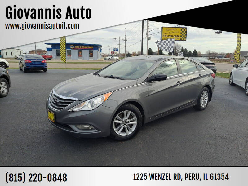 2013 Hyundai Sonata for sale at Giovannis Auto in Peru IL