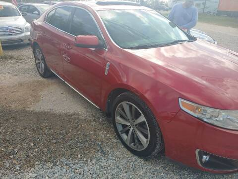 2012 Lincoln MKS for sale at Finish Line Auto LLC in Luling LA
