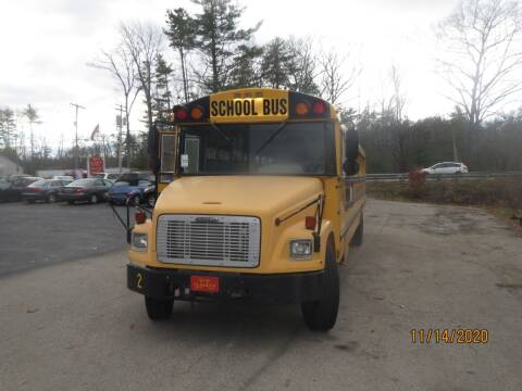 2004 Freightliner fs65 school bus for sale at D & F Classics in Eliot ME