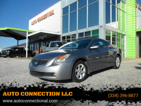 2008 Nissan Altima for sale at AUTO CONNECTION LLC in Montgomery AL