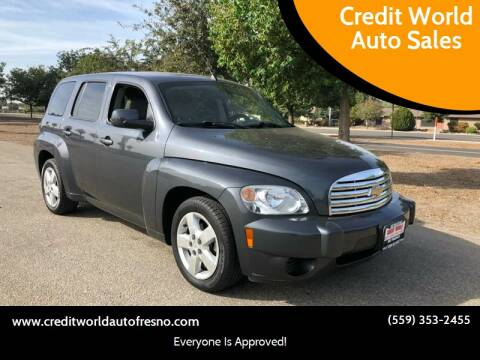 2011 Chevrolet HHR for sale at Credit World Auto Sales in Fresno CA