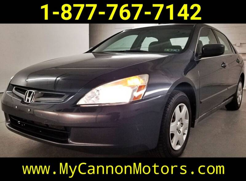 2005 Honda Accord for sale at Cannon Motors in Silverdale PA
