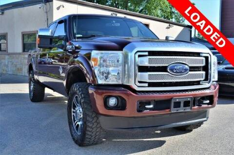 2016 Ford F-250 Super Duty for sale at LAKESIDE MOTORS, INC. in Sachse TX