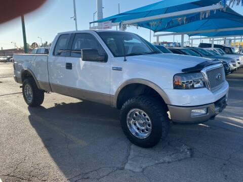 2004 Ford F-150 for sale at Monaco Auto Center LLC in El Paso TX