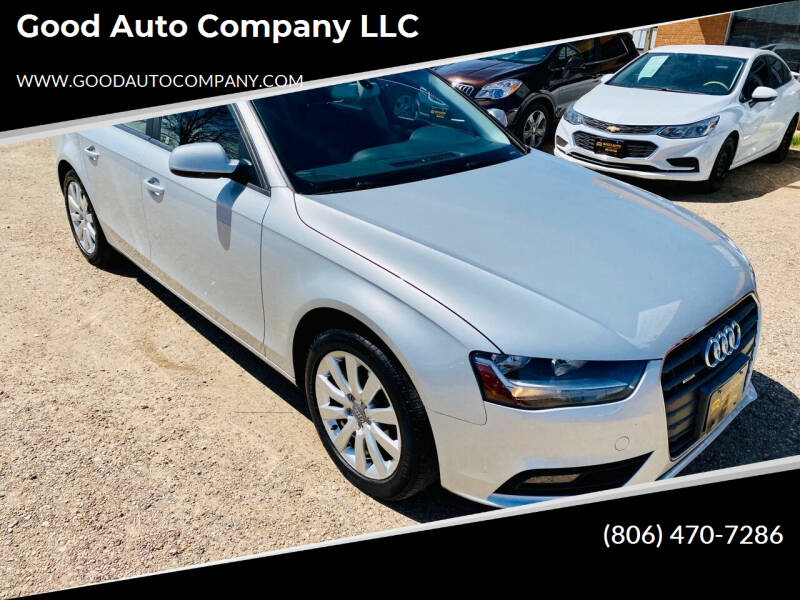 2013 Audi A4 for sale at Good Auto Company LLC in Lubbock TX