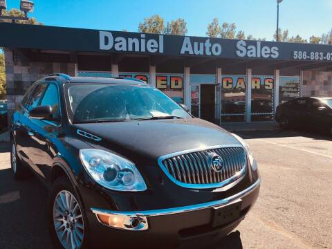 2012 Buick Enclave for sale at Daniel Auto Sales inc in Clinton Township MI