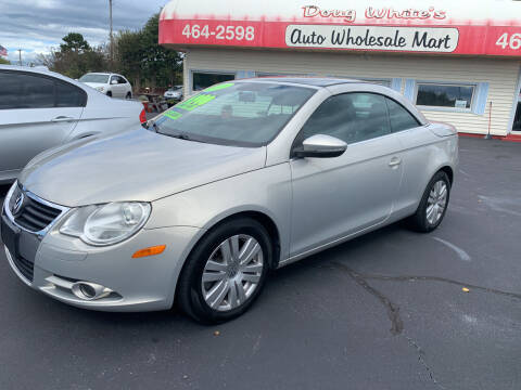 2009 Volkswagen Eos for sale at Doug White's Auto Wholesale Mart in Newton NC