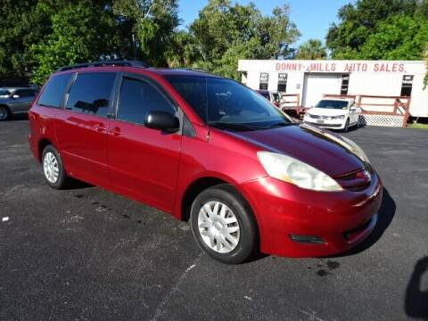 2006 Toyota Sienna for sale at DONNY MILLS AUTO SALES in Largo FL