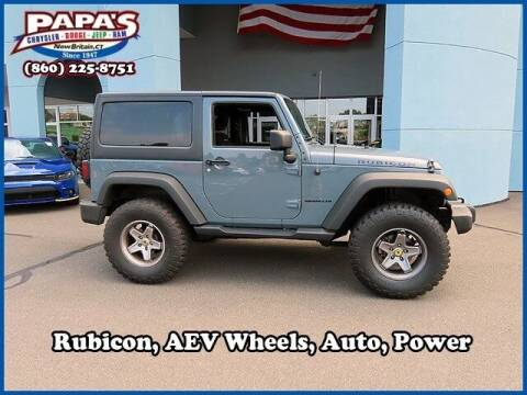 2014 Jeep Wrangler for sale at Papas Chrysler Dodge Jeep Ram in New Britain CT