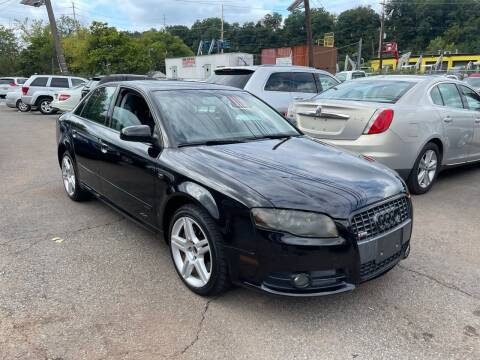 2008 Audi A4 for sale at Giordano Auto Sales in Hasbrouck Heights NJ