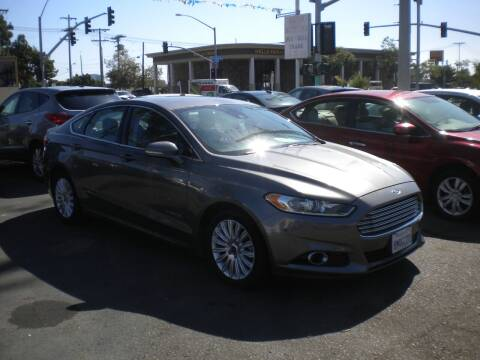 2013 Ford Fusion Hybrid for sale at AUTO SELLERS INC in San Diego CA
