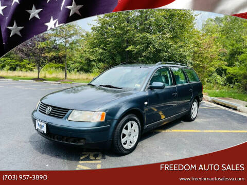 2001 Volkswagen Passat for sale at Freedom Auto Sales in Chantilly VA