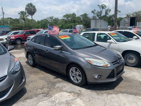 2012 Ford Focus for sale at EXECUTIVE CAR SALES LLC in North Fort Myers FL